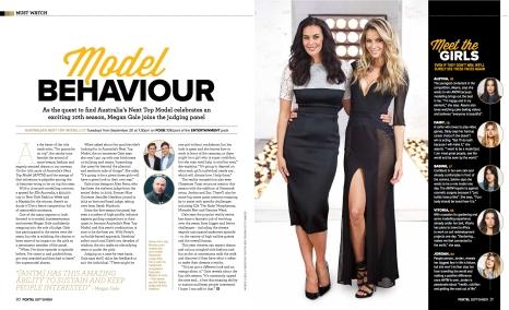Megan Gale (Foxtel magazine)