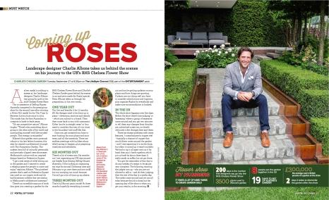 Charlie Albone (Foxtel magazine)