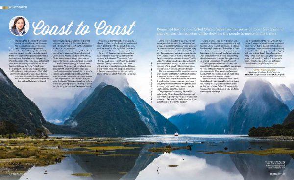 Coast NZ: Neil Oliver (Foxtel magazine)
