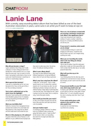 Lanie Lane (TNT Downunder)