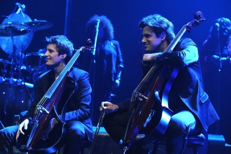 2Cellos. Image supplied.