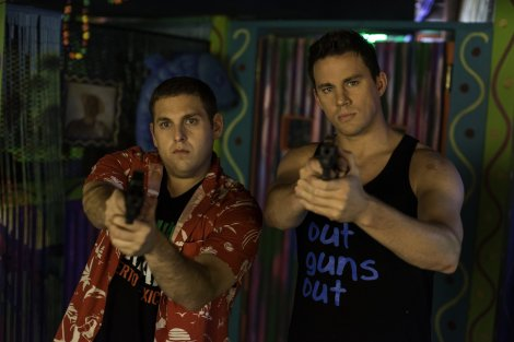 Jonah Hill and Channing Tatum in 22 Jump Street.