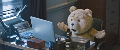 Ted (Seth MacFarlane) in Ted 2. Image courtesy of Universal Pictures.