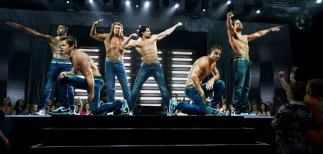 Back to the grind - the cast of Magic Mike XXL.