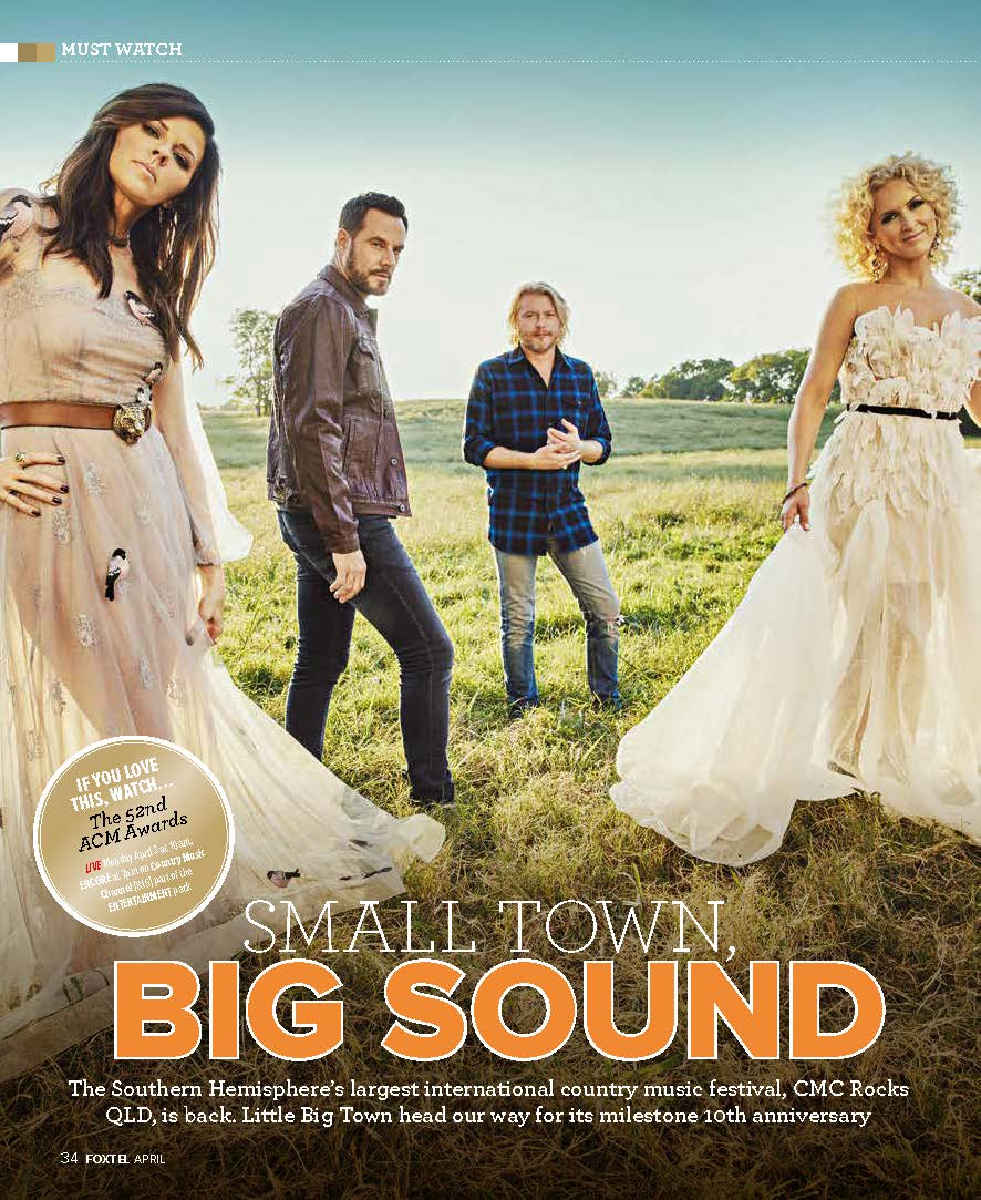 Little Big Town (Foxtel magazine)