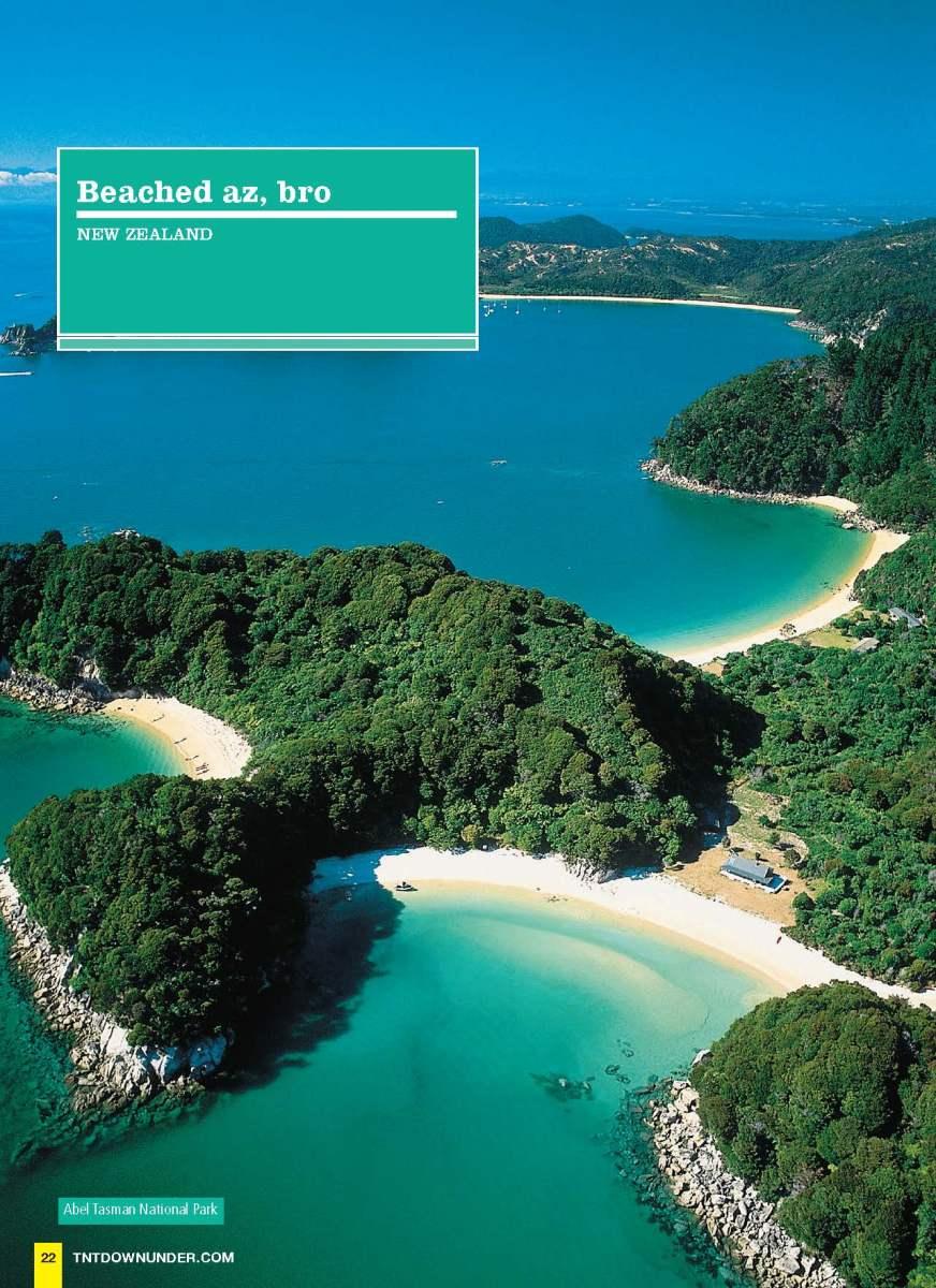 Best NZ Beaches (TNT Downunder)