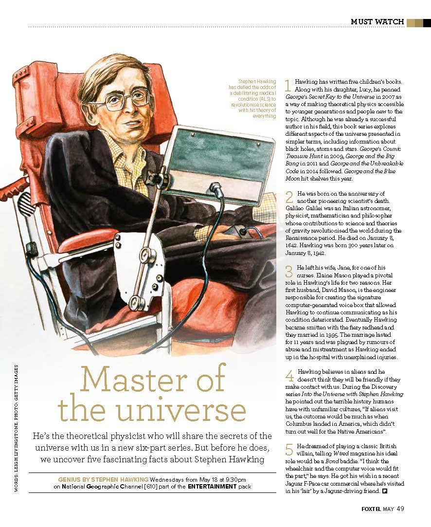 Stephen Hawking (Foxtel)
