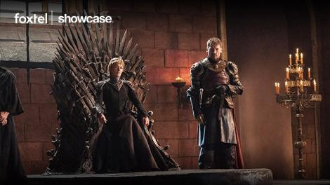Lena Headey and Nikolaj Coster-Waldau in Game of Thrones