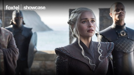 Emilia Clarke as Daenerys Targaryen in Game of Thrones season seven