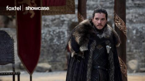 Kit Harington as Jon Snow in Game of Thrones season seven